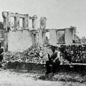 A town in ruins, Sønderborg 1864