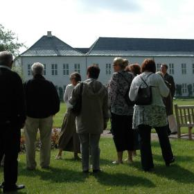 Guided tour at Graasten Palace