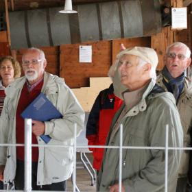 Guided tour at Tørning Mill