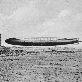 The zeppelinbase in Tønder